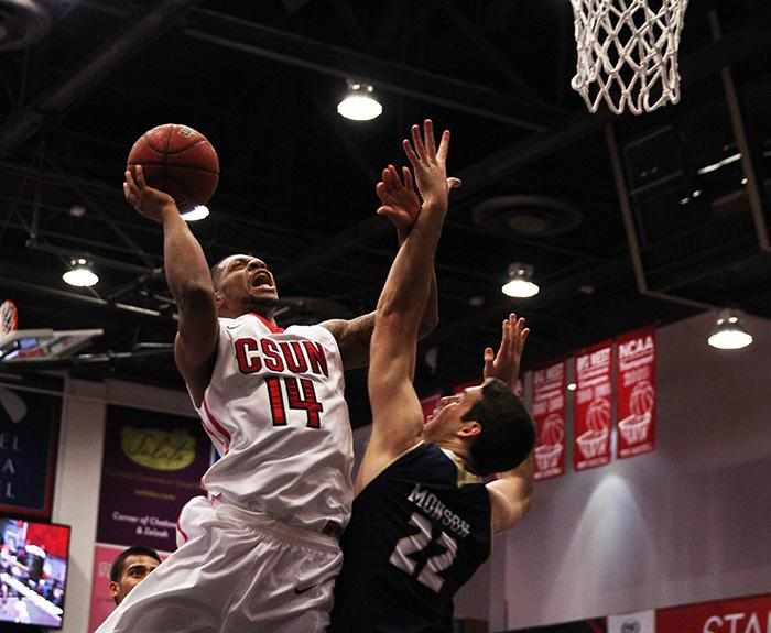 Men's Basketball: CSUN burnt out in 68-55 loss to UC Davis