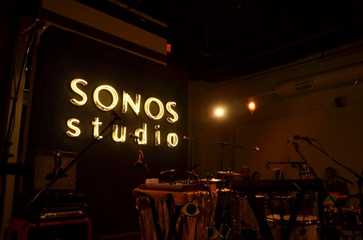 The+Sonos+Studios+in+Los+Angeles+will+be+home+to+Cage+the+Elephant+Tuesday+night+as+the+Grammy-nominated+group+will+play+in+front+of+an+intimate+group+of+people.+Vincent+Nguyen%2FThe+Sundial