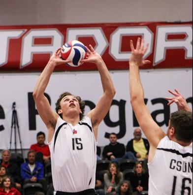 Men's Volleyball: CSUN wins epic shootout with the No. 8 UC Santa Barbara
