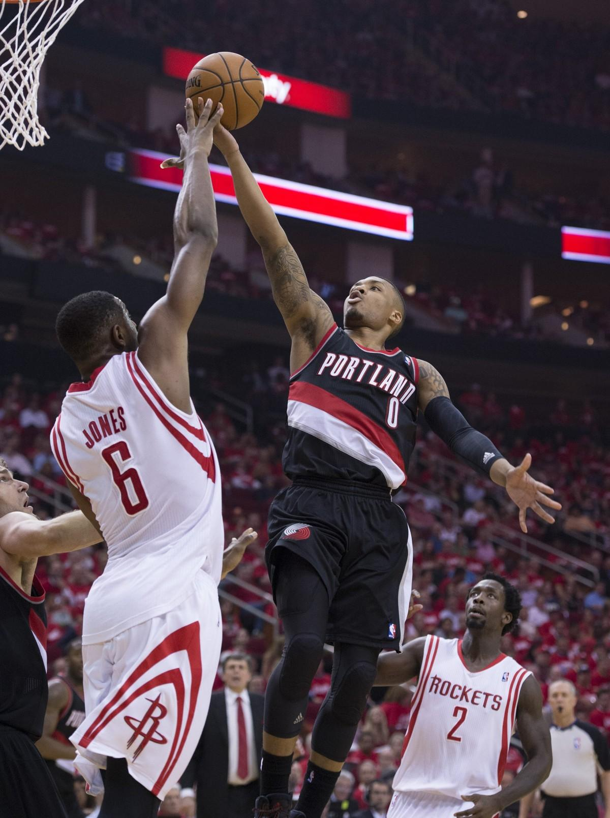 The Portland Trail Blazers' Damian Lillard won't be seen at the NBA All-Stars game. Kenny and Eric talk about this and other All-Star snubs. Photo courtesy of Tribune News Services.
