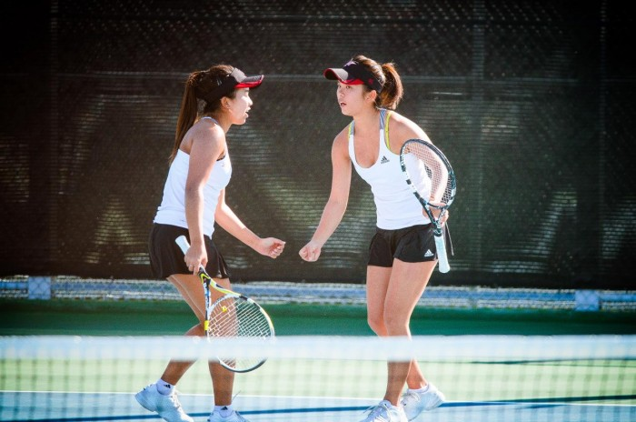 Women's Tennis: Kim leads sweep in victory over CSU Fullerton
