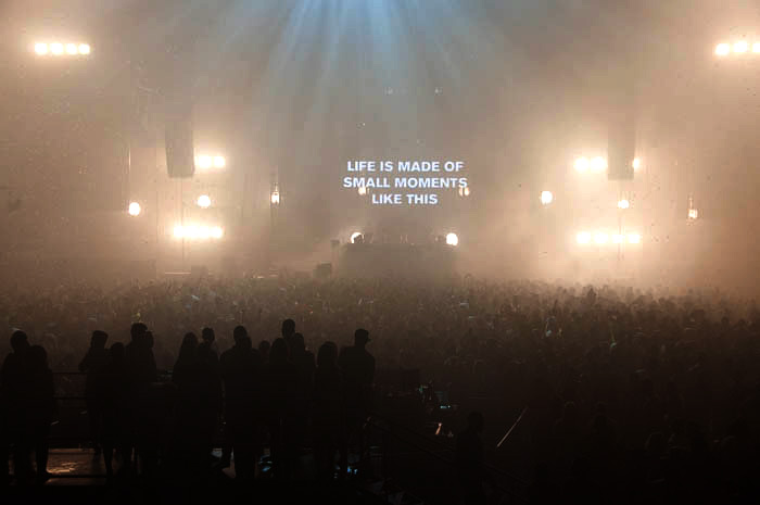 Above and Beyond unites audience under a trance