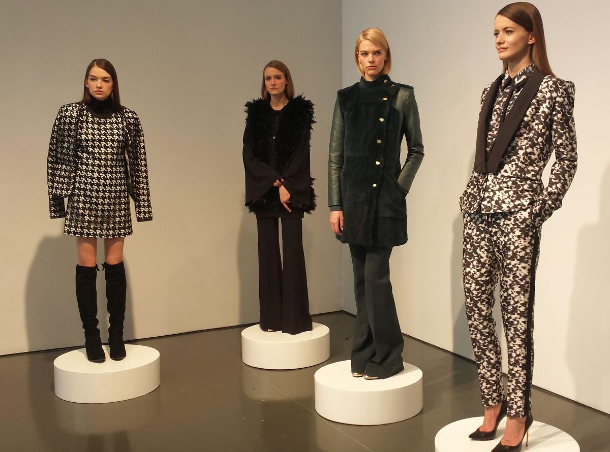 Models+wear+looks+from+the+Rachel+Zoe+Fall+2015+collection%2C+presented+on+Tuesday%2C+Feb.+17%2C+2015%2C+at+New+York+Fashion+Week.+%28Sara+Bauknecht%2FPittsburgh+Post-Gazette%2FTNS%29