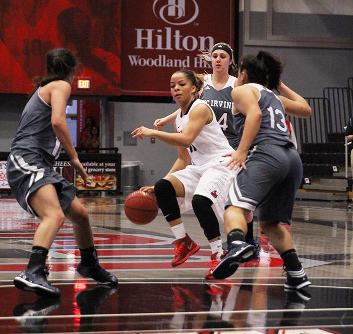 Women's Basketball: CSUN swats down Riverside Highlanders, wins sixth straight