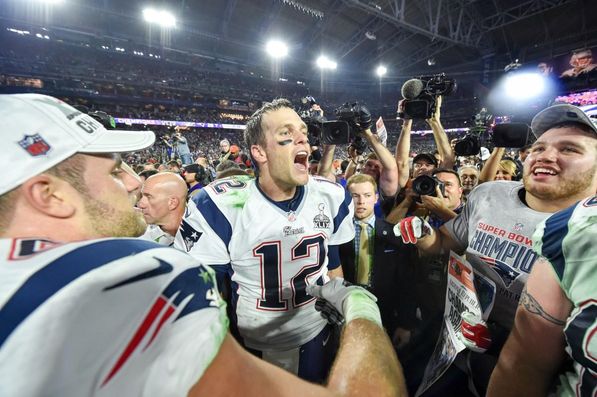 Quarterback Tom Brady and the New England Patriots became Super Bowl XLIX champions Sunday night, with a dramatic finish to the game that gifted Patriots their first win since 2004.