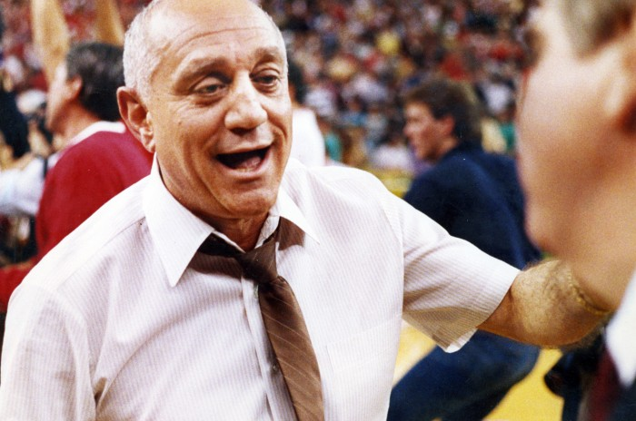 Sundial reporter Julius Lasin pays a tribute to legendary UNLV coach Jerry Tarkanian. Photo courtesy of Tribune News Services