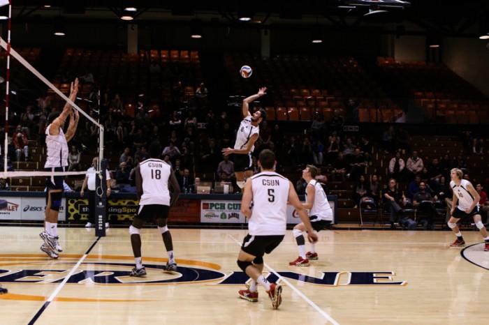Men's Volleyball: Win over Harvard snaps eight game losing streak
