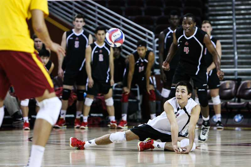 Men's Volleyball: Winning streak continues after sinking Stanford in four sets