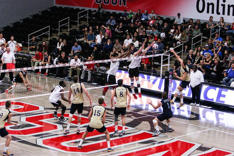 Men%27s+volleyball%3A+CSUN+topples+USC+3-1