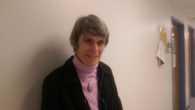 """""""As a citizen, it's my duty to vote."""" Dr. Jane Bayes, professor of political science at CSUN."""
