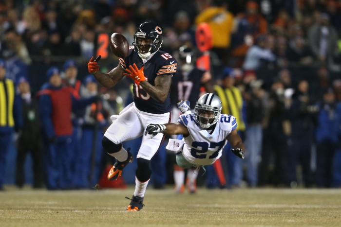 Brandon Marshall has been traded to the New York Jets. How will the former Chicago Bears player do with the re-surging Jets? Photo courtesy of TNS.