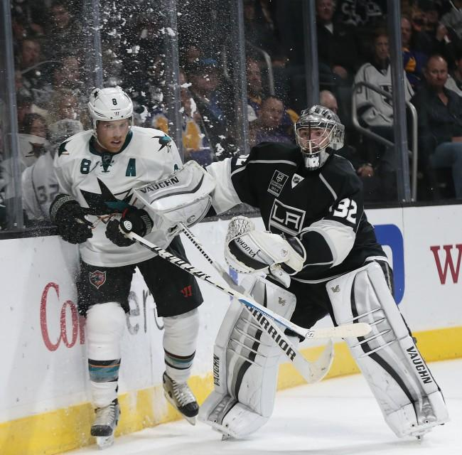 The San Jose Sharks and current NHL Champions the Los Angeles Kings are in danger of missing out on the playoffs.