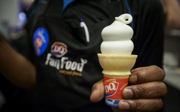 Get your free ice cream from Dairy Queen