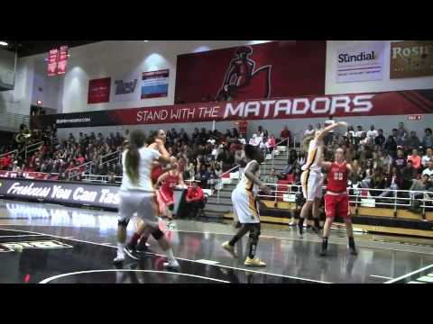 ICYMI: Highlights from CSUN women's basketball senior night victory against Long Beach State
