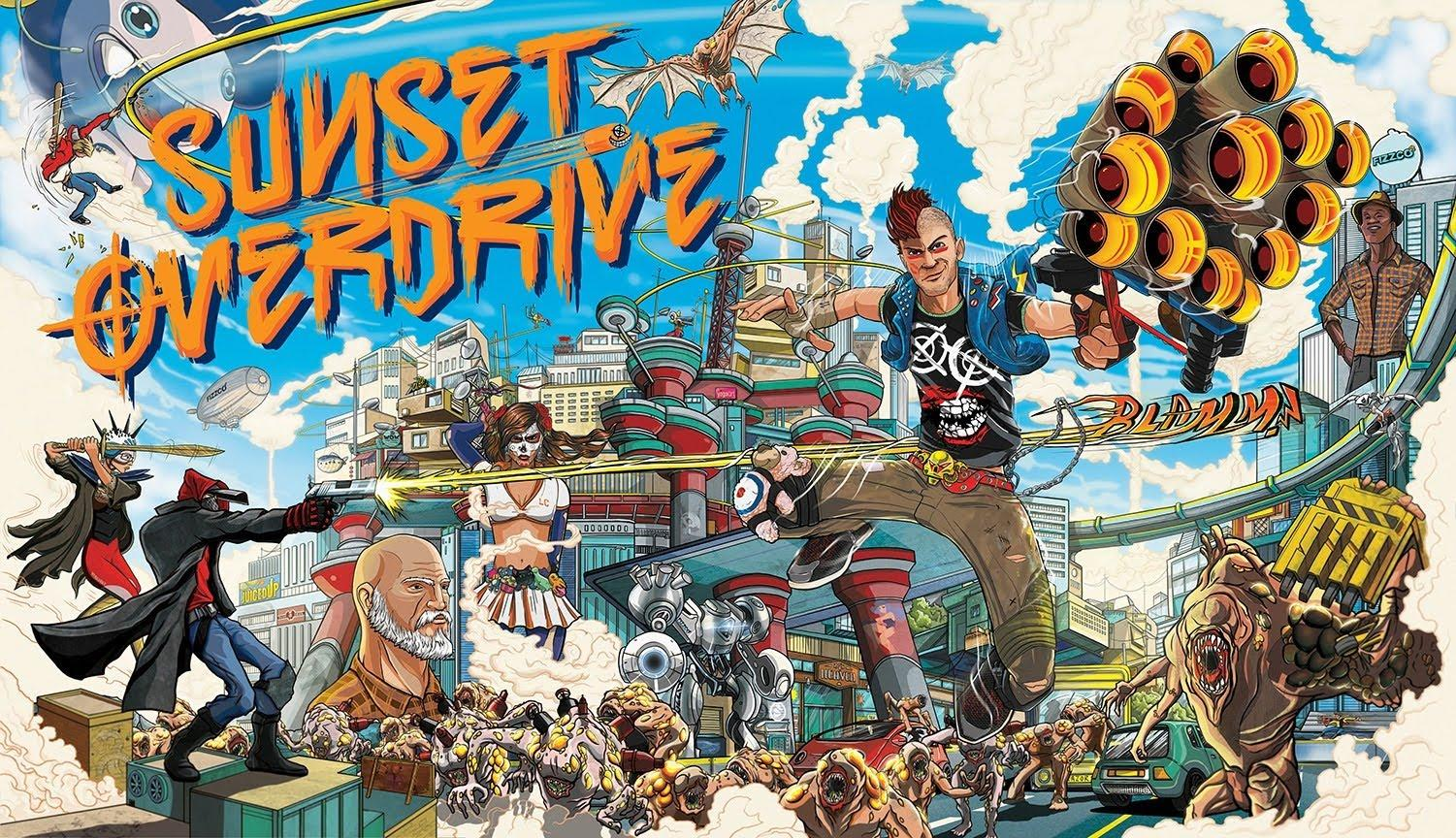 Tech+Tuesday%3A+Sunset+Overdrive+Overview