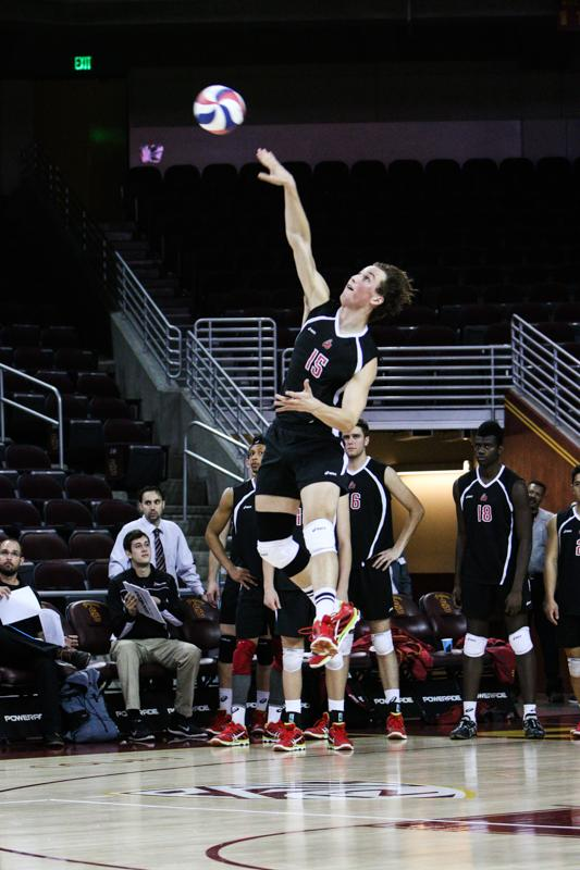 Men's Volleyball: CSUN gets back on track with 3-1 win over UCSD