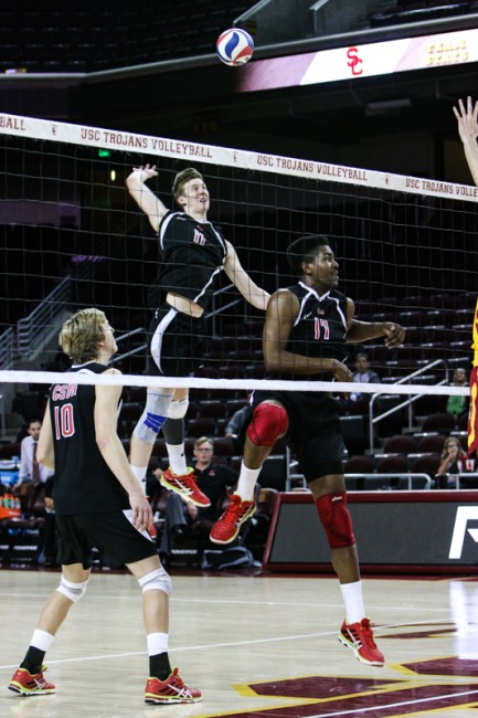 Men's Volleyball: CSUN gets swept 3-0 in highly contested rematch with No. 6 BYU