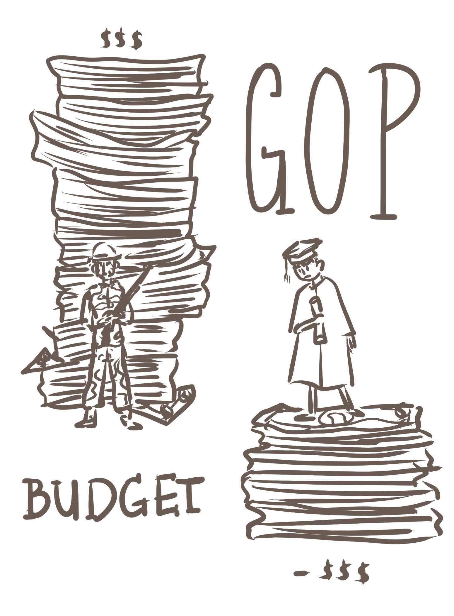 The GOP budget: forget the people, let's amp up the military!
