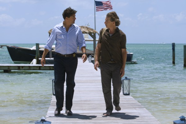 Kyle Chandler (John Rayburn) and Ben Mendelsohn (Danny Rayburn) in the Netflix Original Series BLOODLINE.  Photo Credit: Saeed Adyani  © 2014 Netflix, Inc. All Rights Reserved.