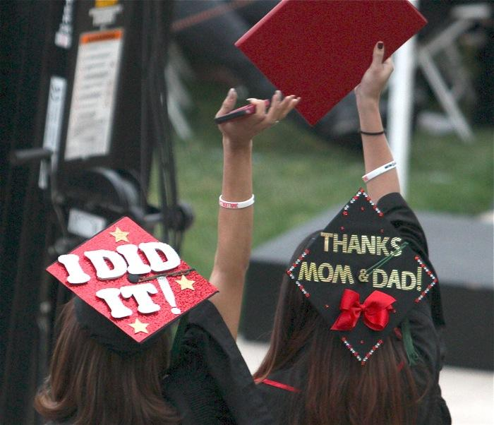 CSUN Commencements 2015: The Caps of the College of Health and Human Development Photo Gallery