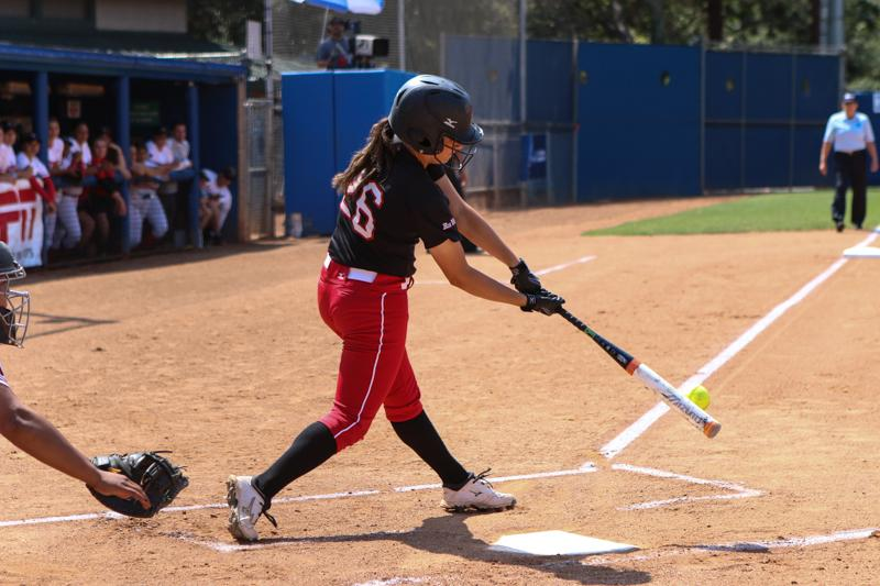 The+Matadors+had+a+few+offensive+chances+late%2C+including+a+seventh+inning+fly+out+by+junior+utility+player+Ariana+Wassmer%2C+but+heady+plays+by+the+Aztecs%27+outfield+kept+multiple+runs+fro+getting+on+the+board+during+the+2015+NCAA+softball+tournament+at+UCLA%E2%80%99s+Easton+Stadium+in+Los+Angeles%2C+Calif.%2C+on+Sat.+May+16%2C+2015.+%28Kelly+Rosales%2F+The+Sundial%29
