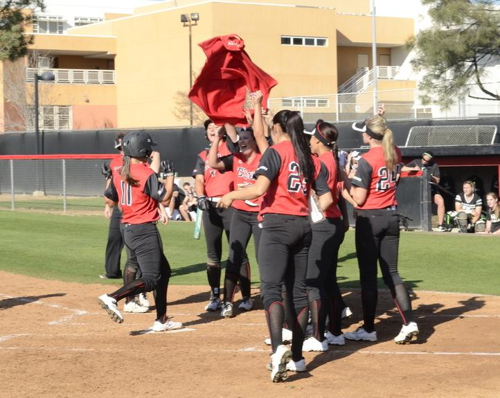 Live Updates from CSUN softball NCAA game