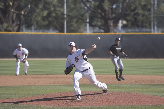Newly+drafted+pitcher+Jerry+Keel+joins+the+92+other+CSUN+alumni+that+have+been+taken+in+the+MLB+Draft.+Photo+credit%3A+Trevor+Stamp