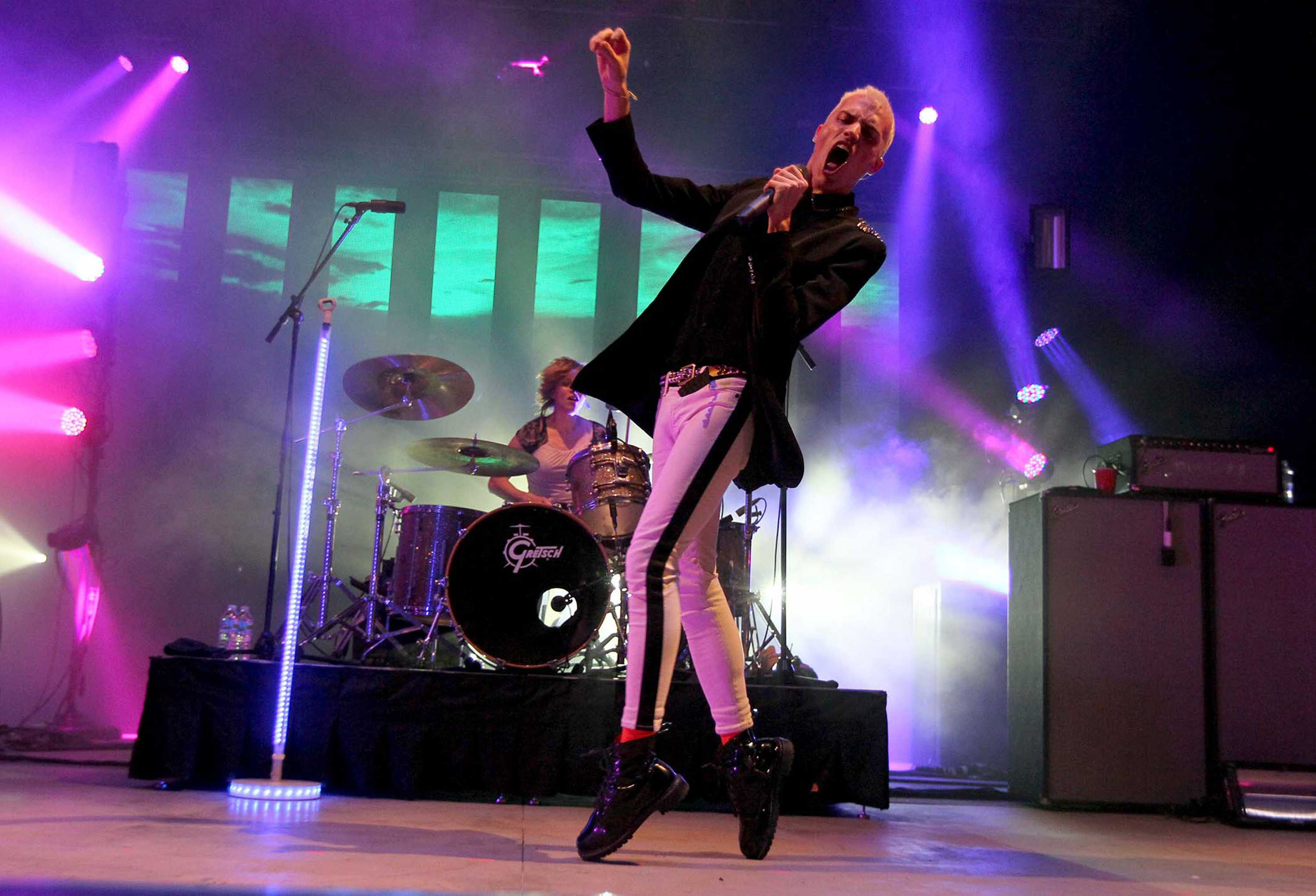 Neon+Trees+performs+a+concert+sponsored+by+Rock+the+Vote%2C+at+Mizner+Park+in+Boca+Raton%2C+Florida+on+Monday%2C+October+22%2C+2012.+Photo+courtesy+of+MCT