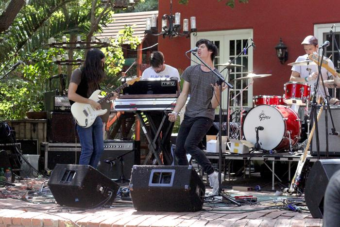 De Lux performs their set at the Rock and Roll Carnival in Los Angeles, Calif., on Saturday, Aug. 22, 2015. (Yocasta Arias/ The Sundial) Photo credit: Yocasta Arias