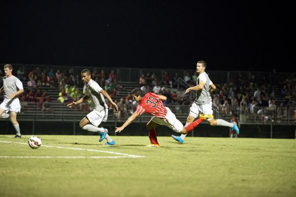 Men's Soccer: CSUN gets shutout 4-0 in exhibition game over the weekend