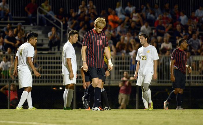 Men's Soccer: Self-inflicted wound costs CSUN exhibition game