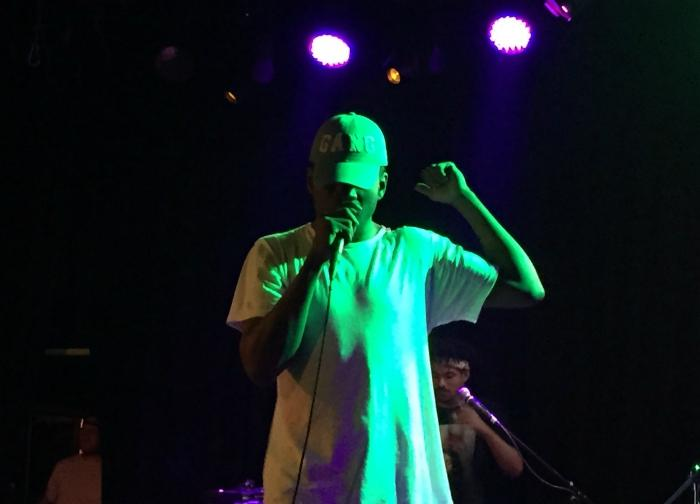 Mick Jenkins headlined a show at the Roxy in Los Angeles on Tuesday, Sept. 22.
