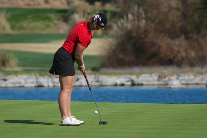 The Matadors were able to have three top-six finishers in the tournament, good for second place. Photo credit: File Photo/The Sundial