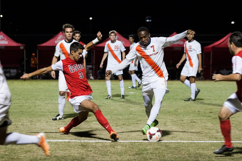 Men's soccer set to square off against Cal State Fullerton