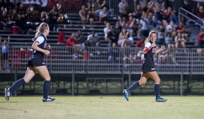 Sanchez lifts women's soccer to their first conference victory
