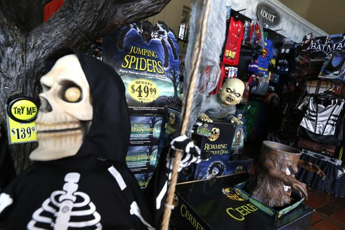 Halloween+has+grown+into+a+major+consumer+holiday%2C+with+157+million+Americans+expected+to+celebrate+this+year.+%28Michael+Robinson+Chavez%2FLos+Angeles+Times%2FTNS%29