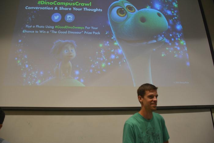 Pixar art director provides CSUN insight into animation industry