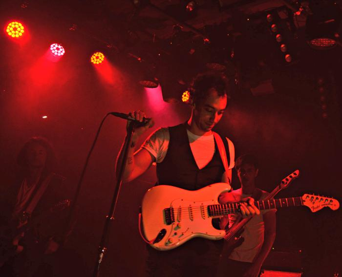 Albert Hammond, Jr. performed at the new Teragram Room in downtown L.A. on Oct. 14