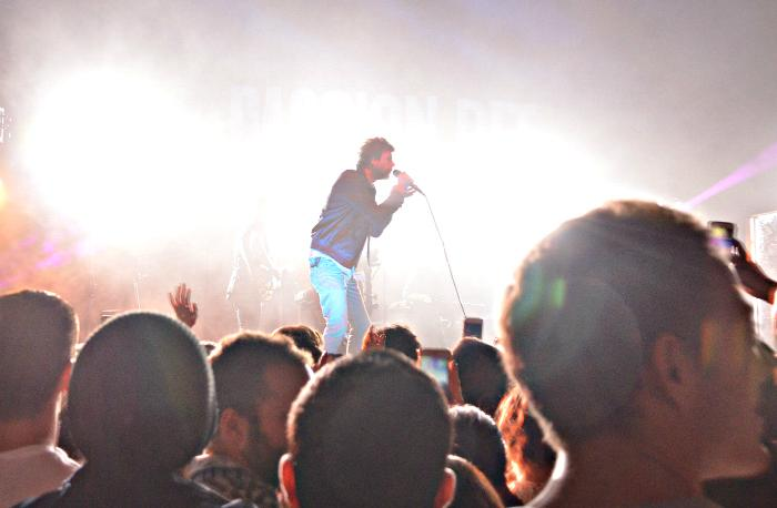 Passion Pit's performance at the Wiltern on Oct. 28 by Michale Angelakos.