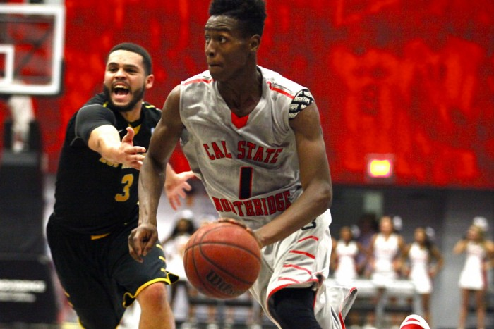 CSUN slip by Cal State L.A. 54-50 in first exhibition