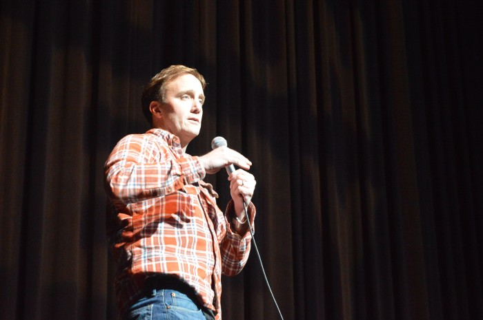 Jay Mohr preforming at CSUN's Big Comedy Show.