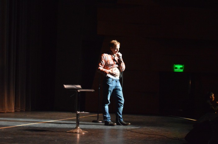 Jay Mohr, American actor, stand-up comedian and radio host preforming at The Big Comedy Show.