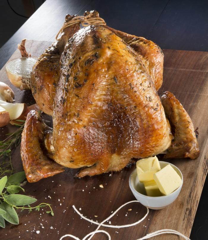 A brined and raosted turkey recipe. (Tammy Ljungblad/Kansas City Star/TNS)