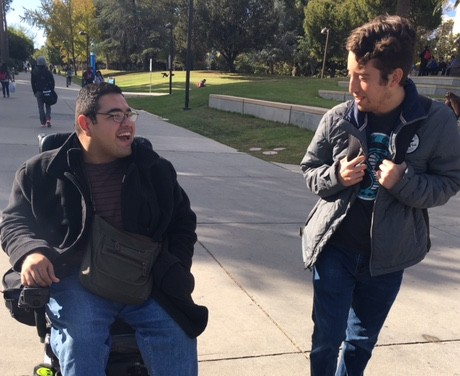 CSUN student overcomes physical challenges to achieve his goals