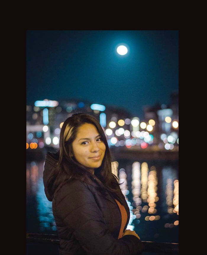 A photo of Nohemi Gonzalez, 23, posted on the Strate College of Design Facebook page. Gonzalez was killed in a series of bombings and attacks in Paris, France on Nov. 13, 2015.