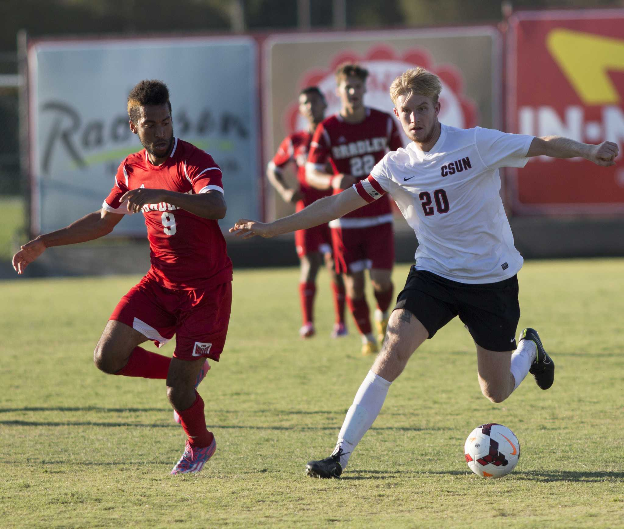 CSUN senior defender earns NSCAA honor