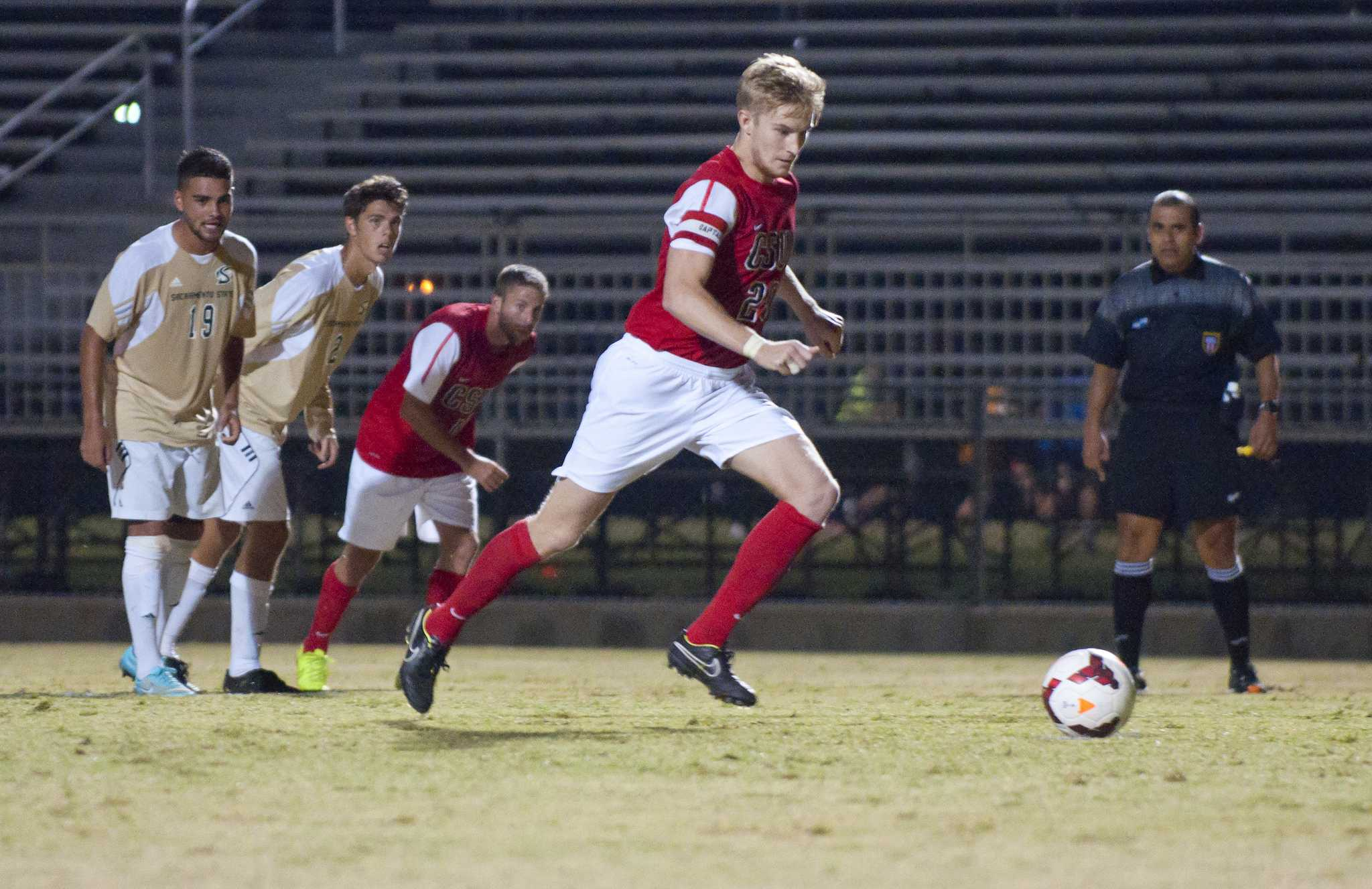 Senior defender Trevor Morley not only continued to be a stabilizing force for the Matadors on defense this season, but also scored for the first time in his career. Photo credit: File Photo/The Sundial