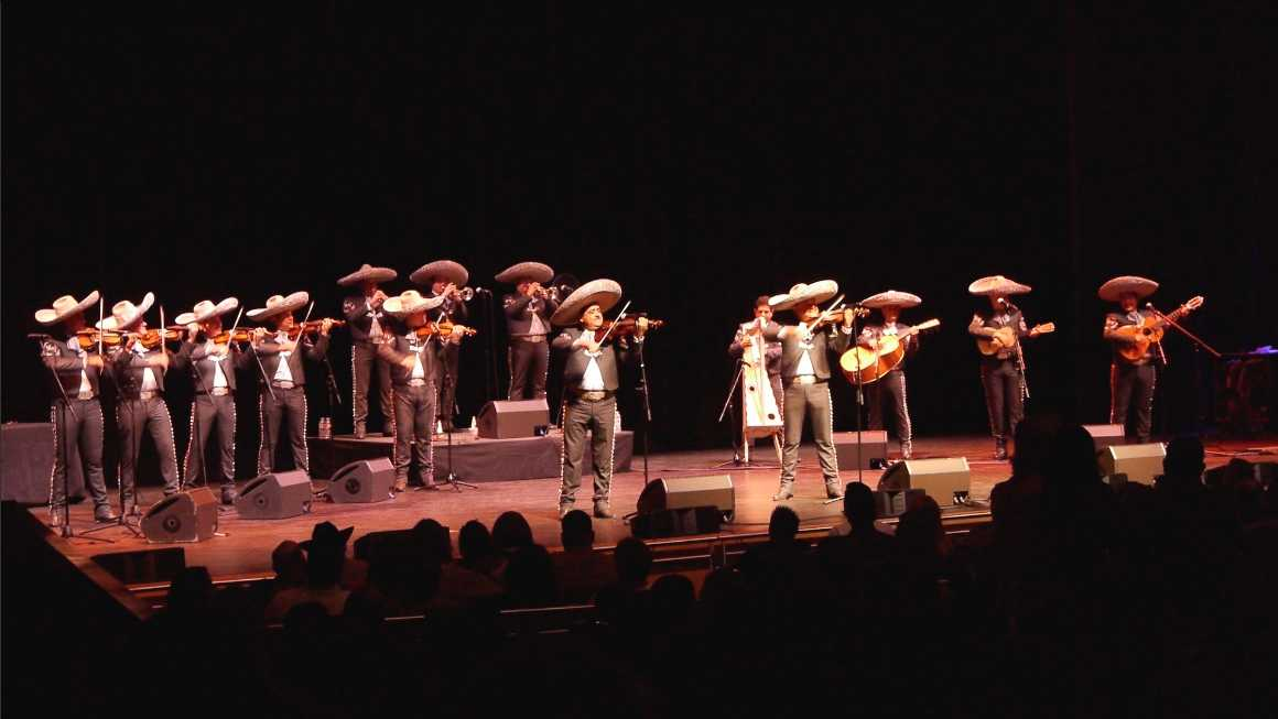 Mariachi Vargas de Tecalitlán performed in front of a large audience at the Valley Performing Arts Center Thursday, Dec. 3. Photo Courtesy of The VPAC