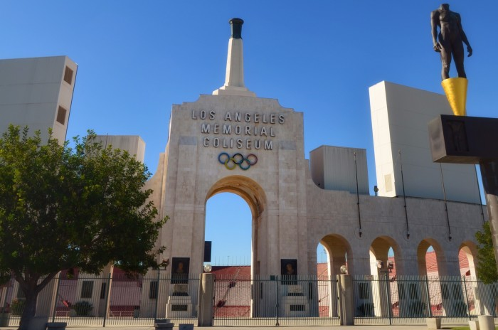 Outside of the Coliseum  Photo by Patricia Perdomo