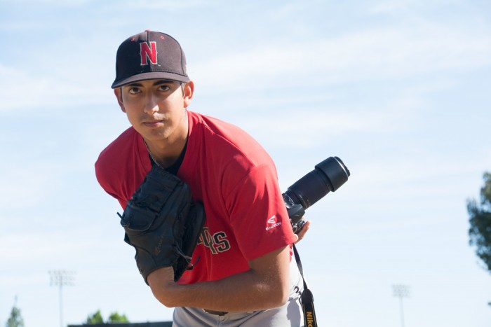 Angel+Rodriguez+is+playing+his+senior+year+of+college+baseball+as+a+relief+pitcher+for+the+Matadors.+%28Raul+Martinez+%2F+The+Sundial%29